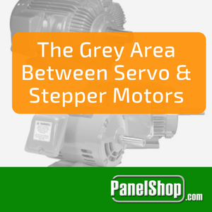 The operational difference between stepper and servo motors seem to be thinning out with the advancement of motor control and construction.