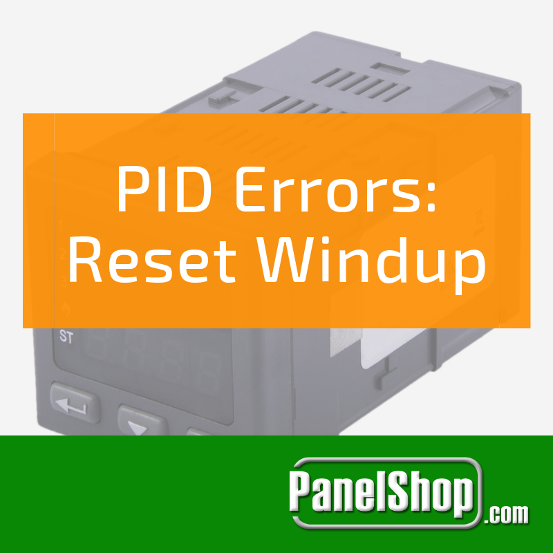 PID Errors: Reset Windup