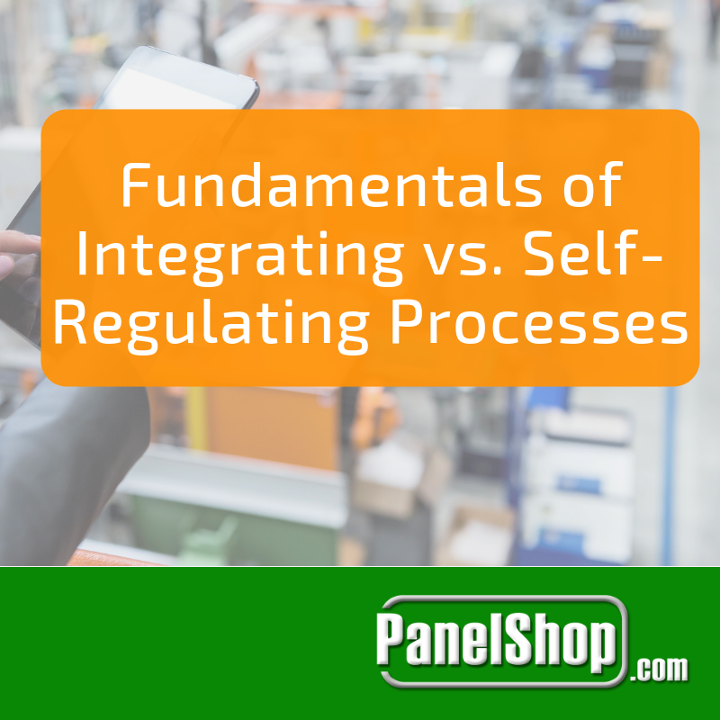 Fundamentals of Integrating vs. Self-Regulating Processes