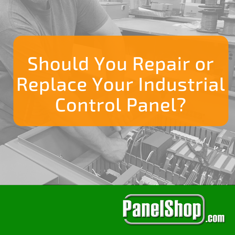 Should You Repair or Replace Your Industrial Electrical Control Panel?