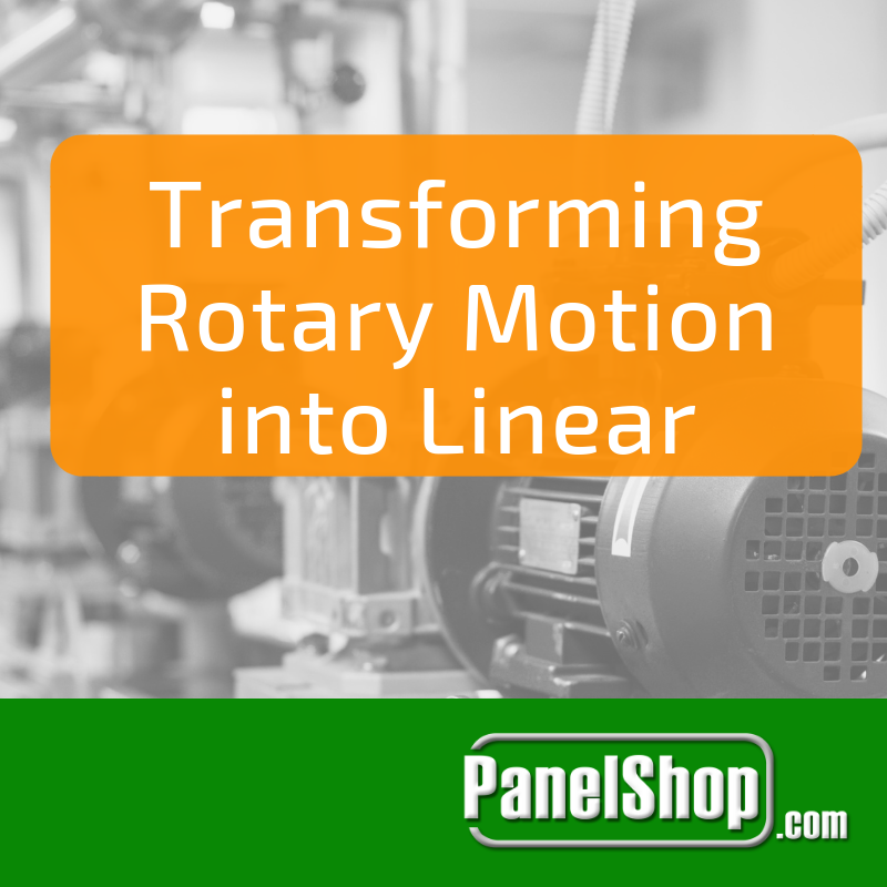 Transforming Rotary Motion Into Linear