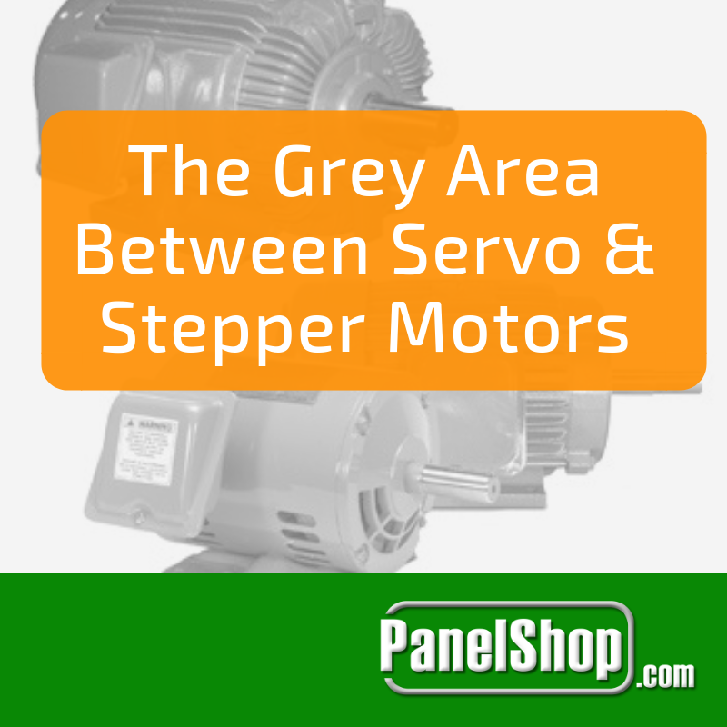 The Grey Area Between Servo and Stepper Motors