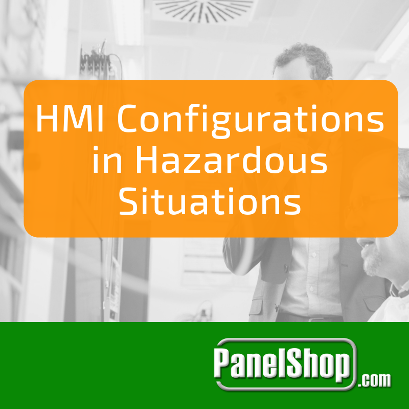 HMI Configuration in Hazardous Situations
