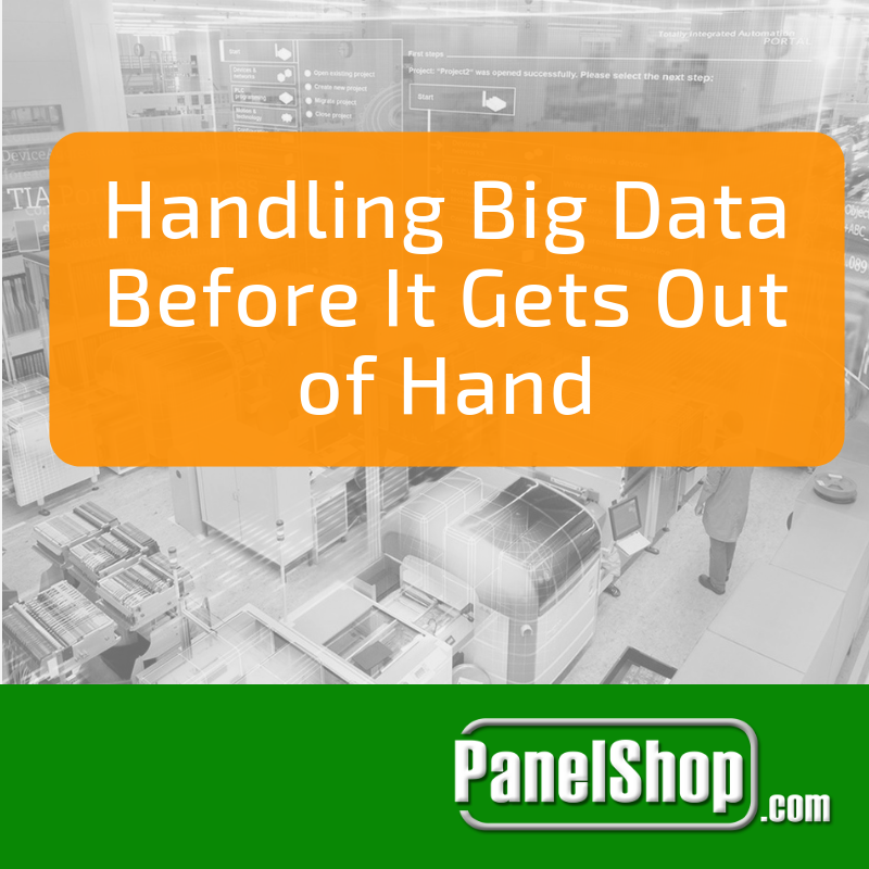 Handling Big Data Before It Gets Out of Hand