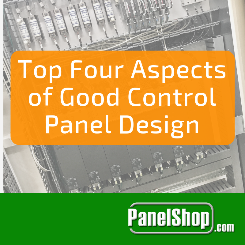Top Four Aspects of Good Control Panel Design