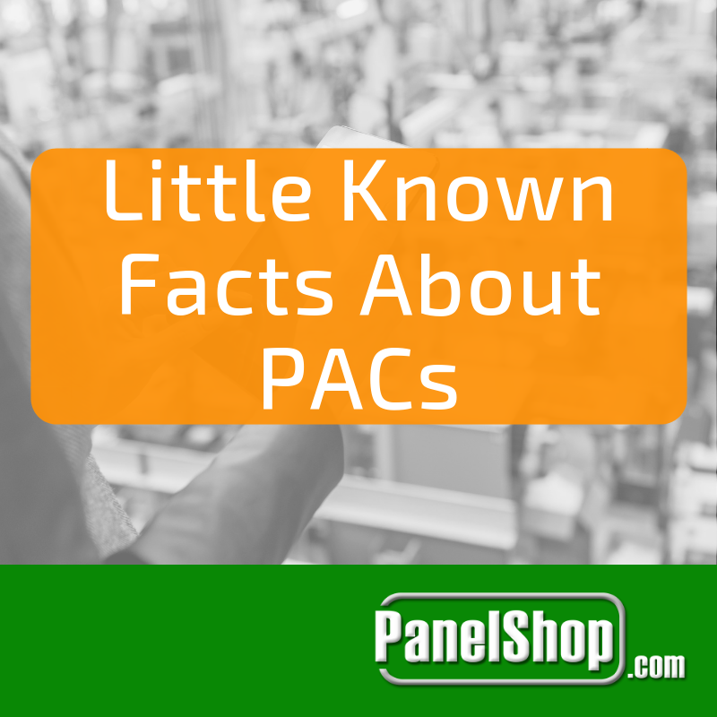Little known facts about PACs
