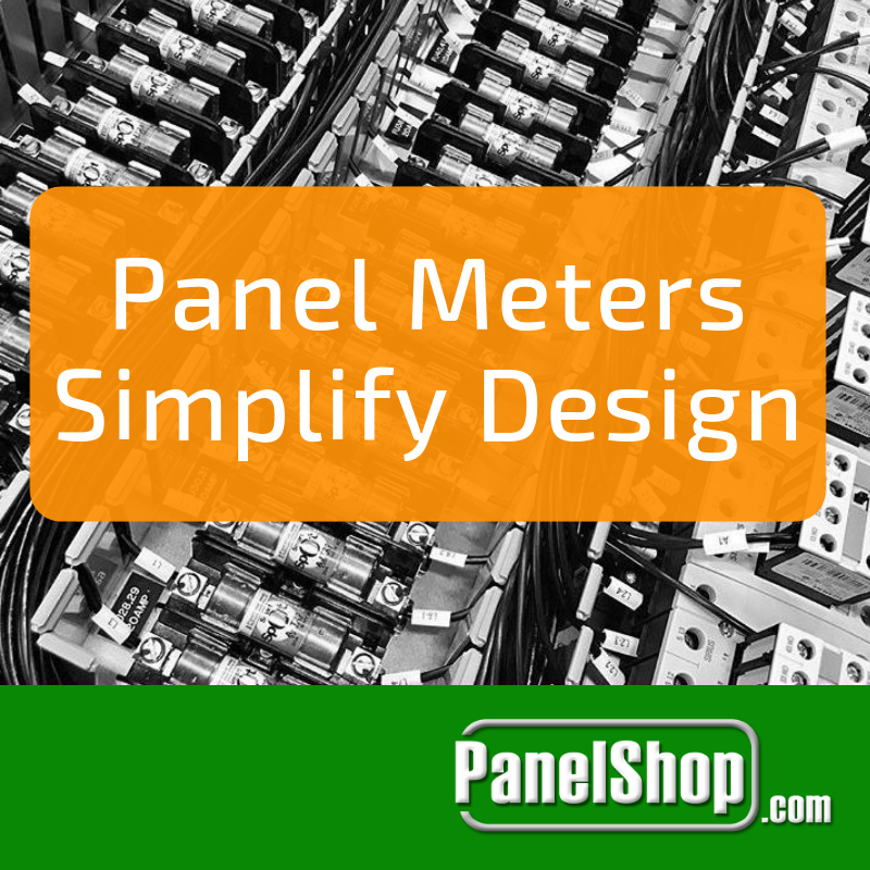 Panel Meters Simplify Design