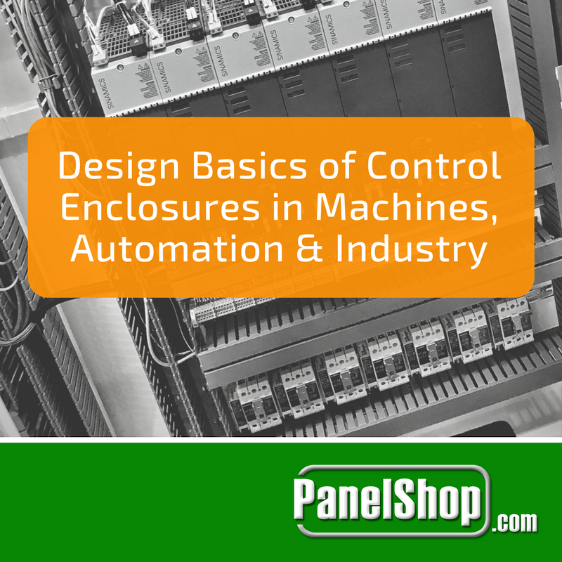 Design Basics of Control Enclosures in Machines, Automation and Industry