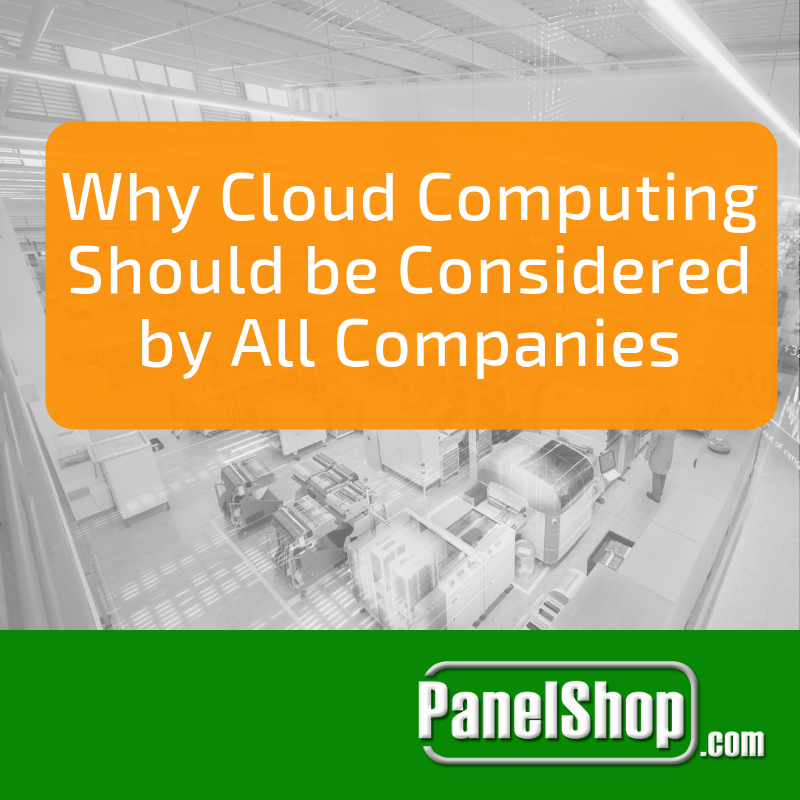Why Cloud Computing Should be Considered by All Companies